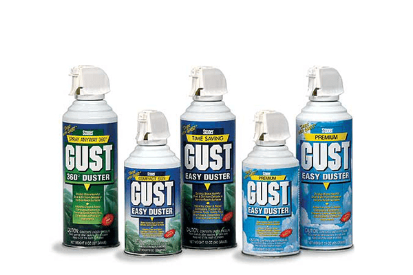 Click below to view all of our GUST Easy Dusters