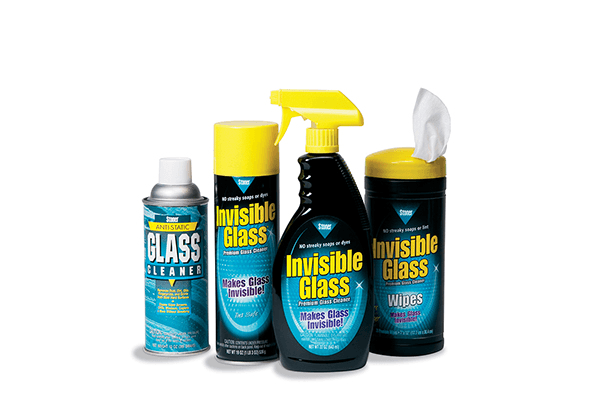 Click below to view all of our Glass Cleaners